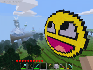Minetest Smiley Face